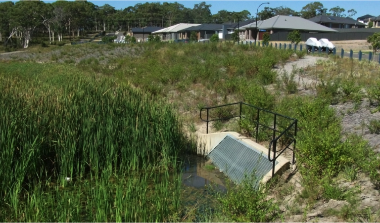 Aquilo Residential Development, Bio-detention, Bonnells Bay